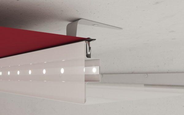 سقف کشسان دو سطحی