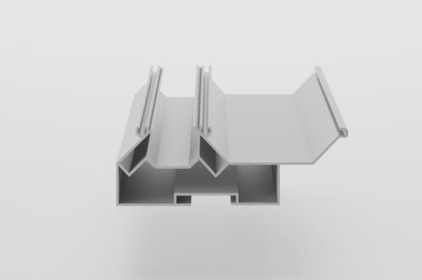 پروفیل دو سطحی سقف کشسان
